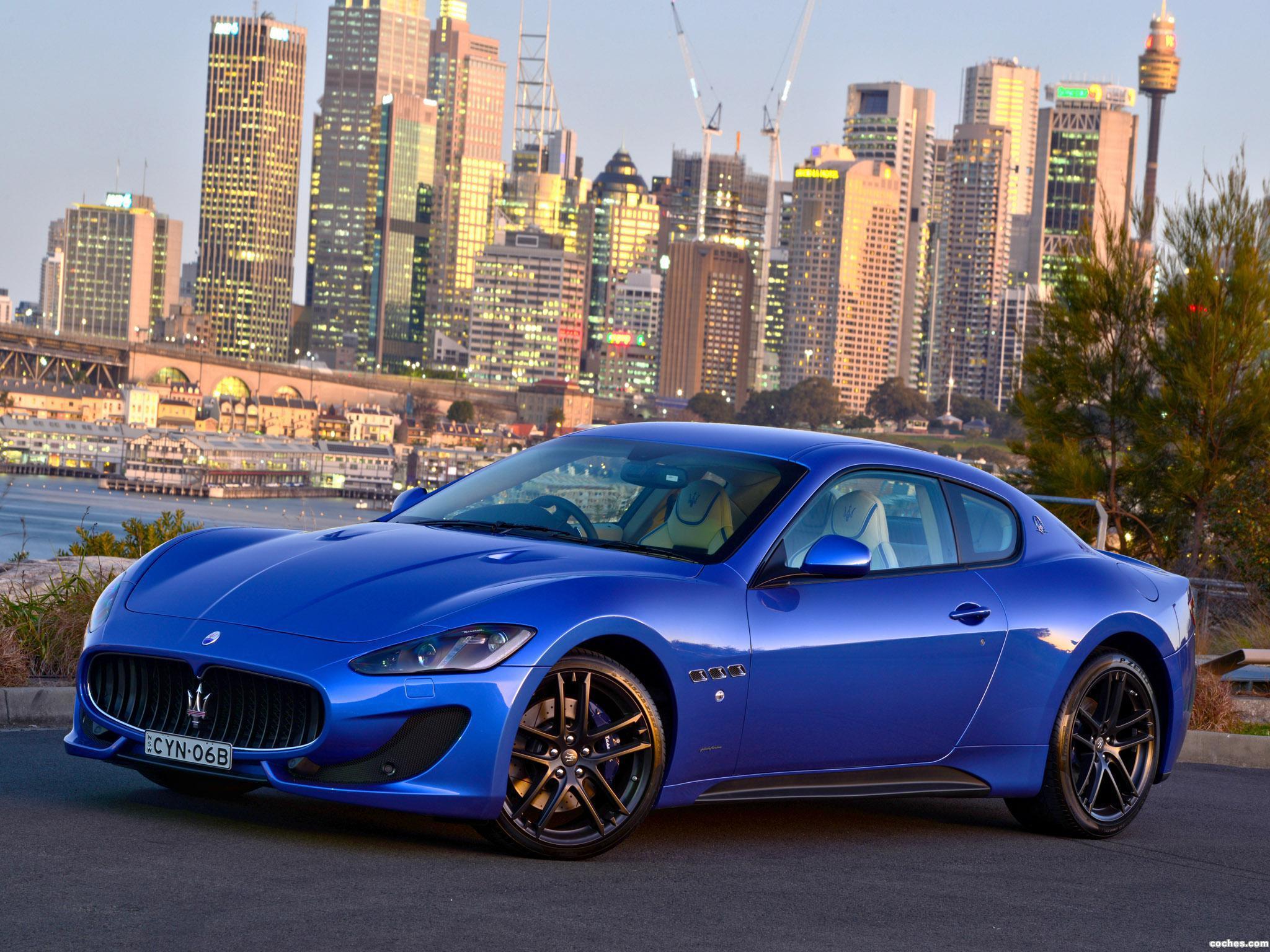 Foto 12 de Maserati Granturismo MC Sportline 2015