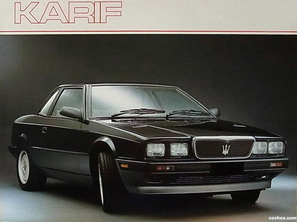 Foto 0 de Maserati Karif 1988