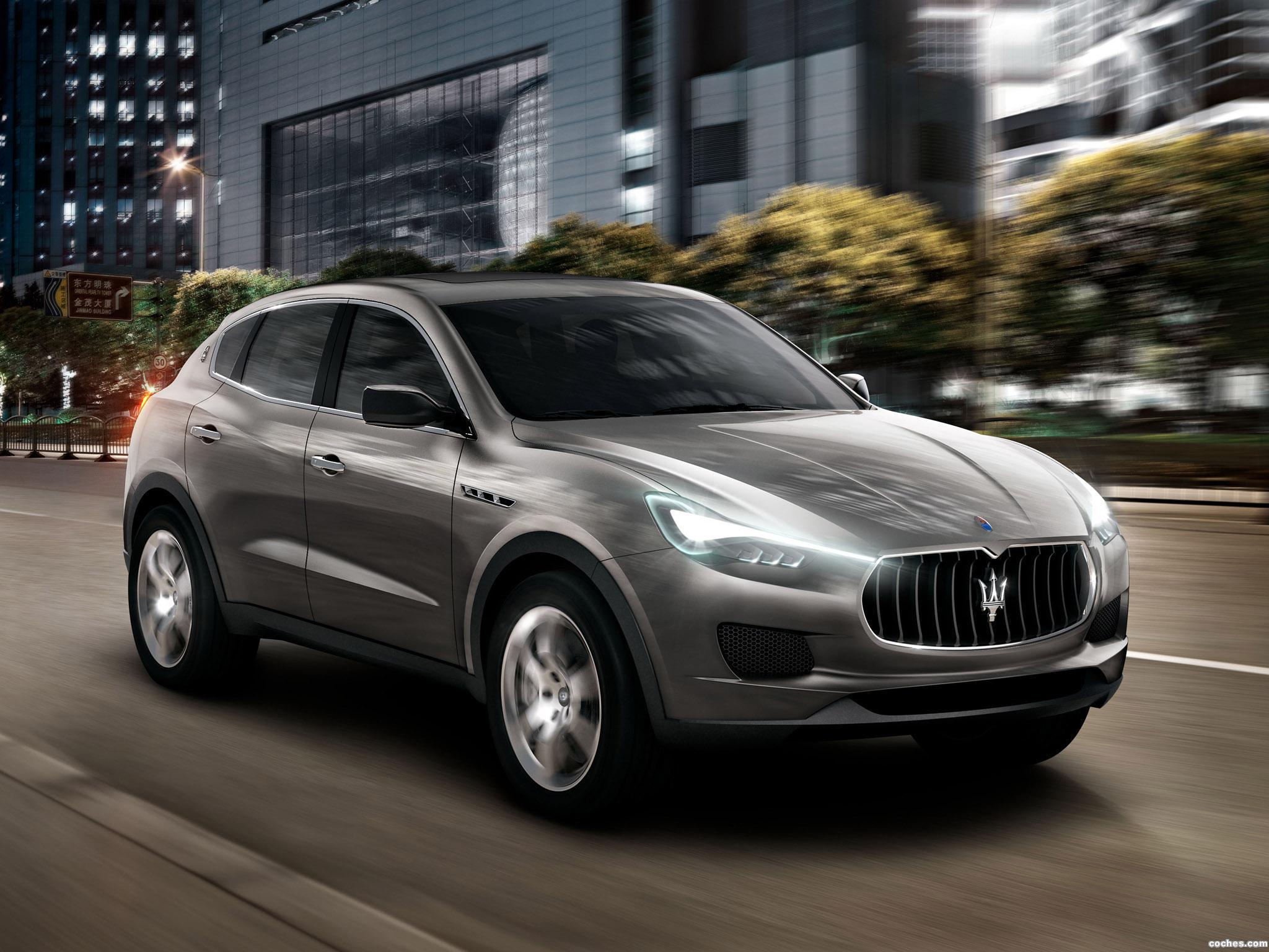 Foto 0 de Maserati Kubang Concept 2011