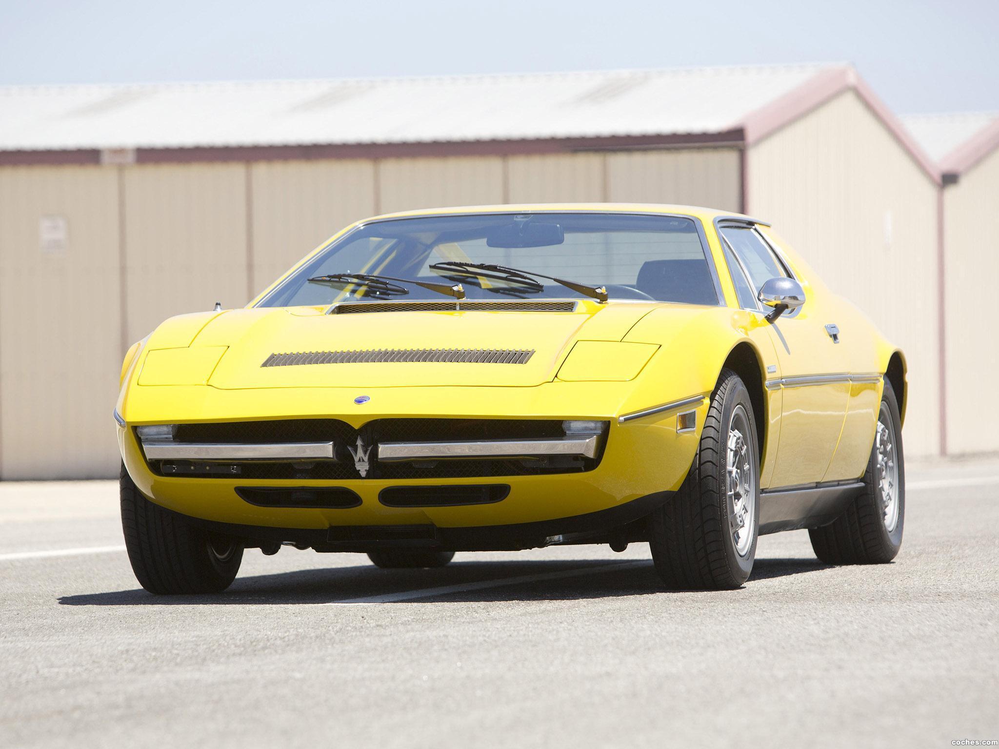 Foto 0 de Maserati Merak USA 1973