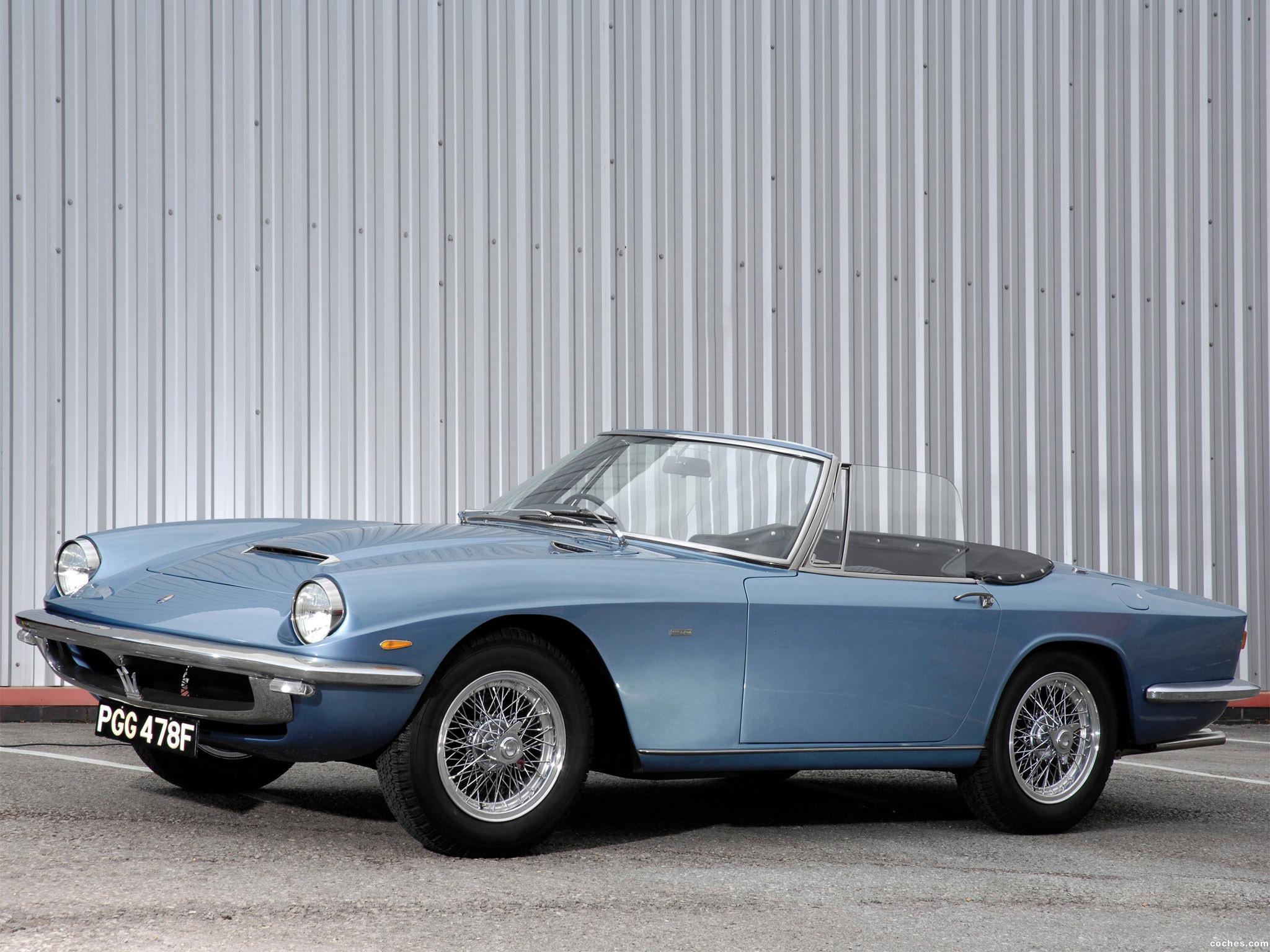 Foto 0 de Maserati Mistral Spyder 1963