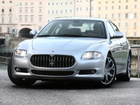Ver foto 1 de Maserati Quattroporte Facelift 2008
