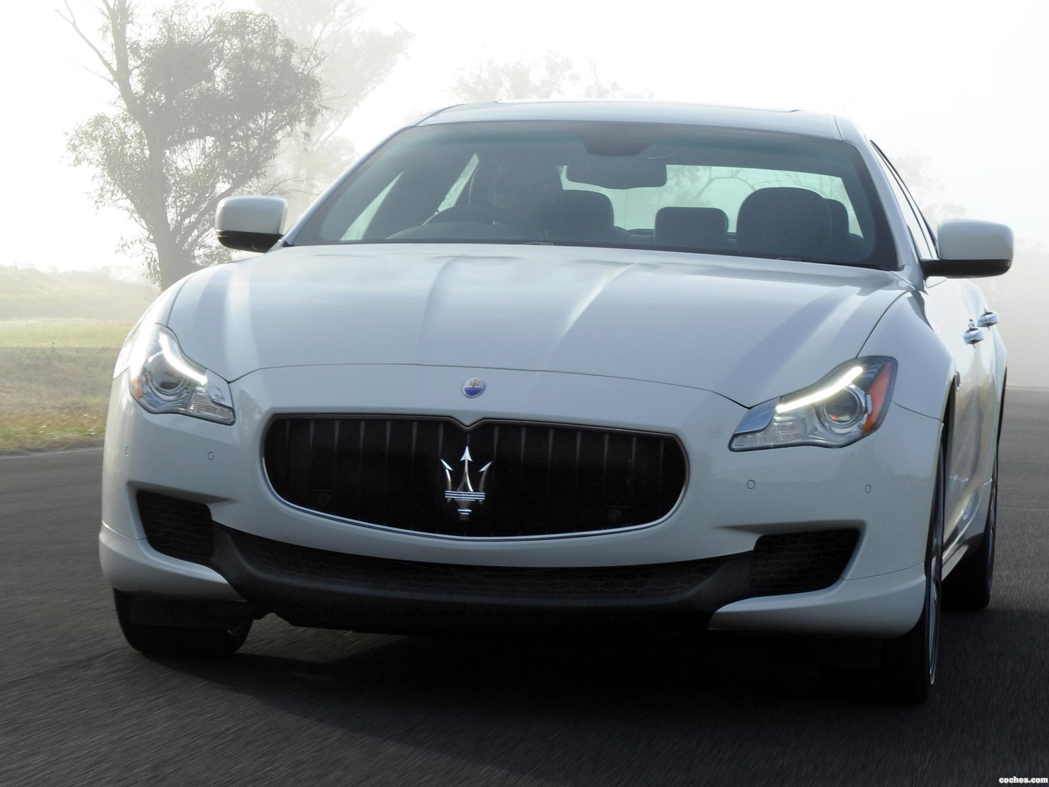 Foto 0 de Maserati Quattroporte S Australia 2014
