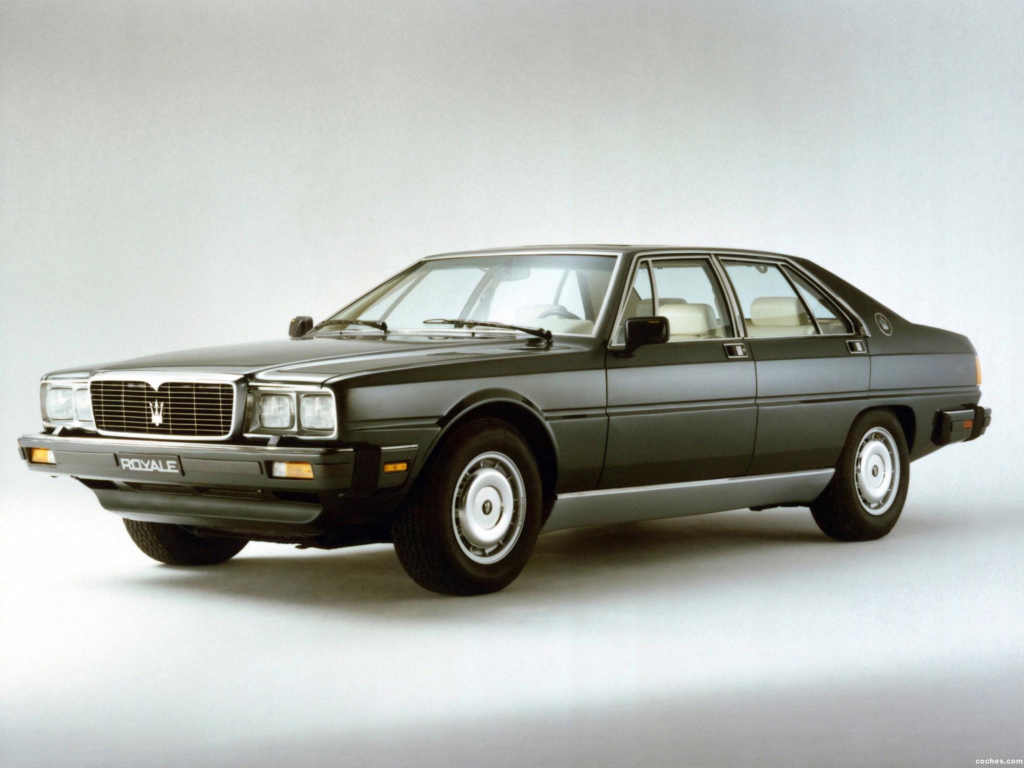 Foto 0 de Maserati Royale 1986-1990