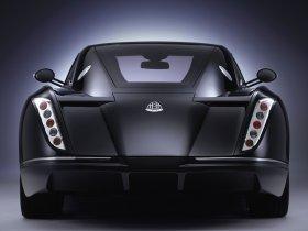 Ver foto 5 de Maybach Exelero Concept 2005