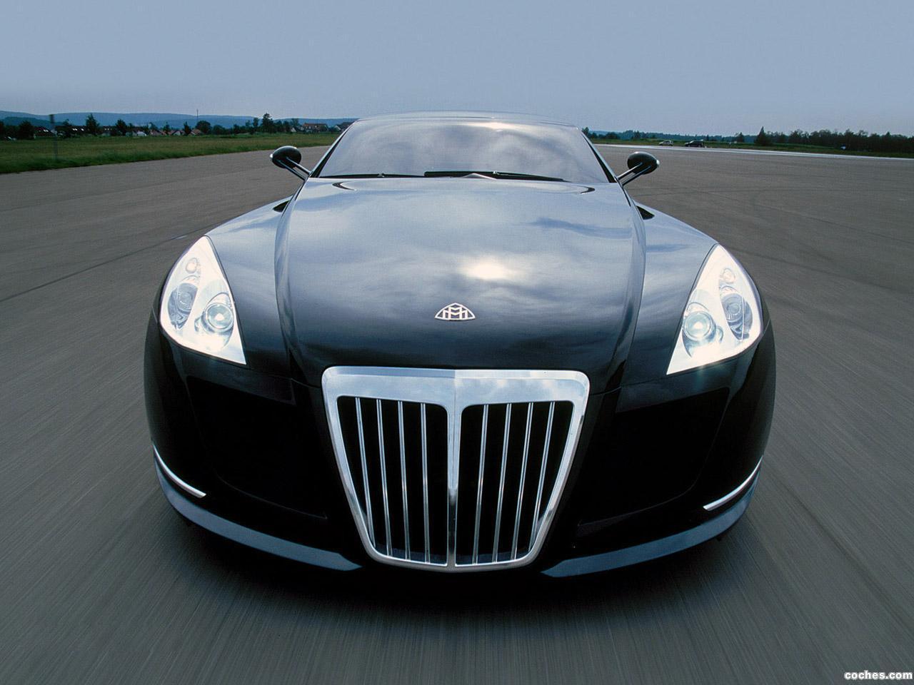 Foto 0 de Maybach Exelero Concept Fulda Tires High Speed Test Car 2005