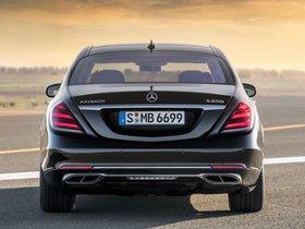 Ver foto 10 de Mercedes Maybach S 650 X222 2017