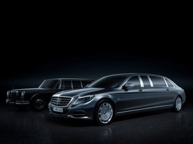Fotos de Mercedes Maybach Clase S Pullman 2015