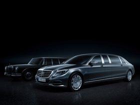 Ver foto 1 de Mercedes Maybach Clase S Pullman 2015