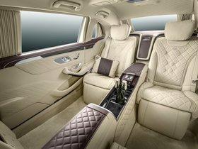 Ver foto 28 de Mercedes Maybach Clase S S600 Pullman 2015