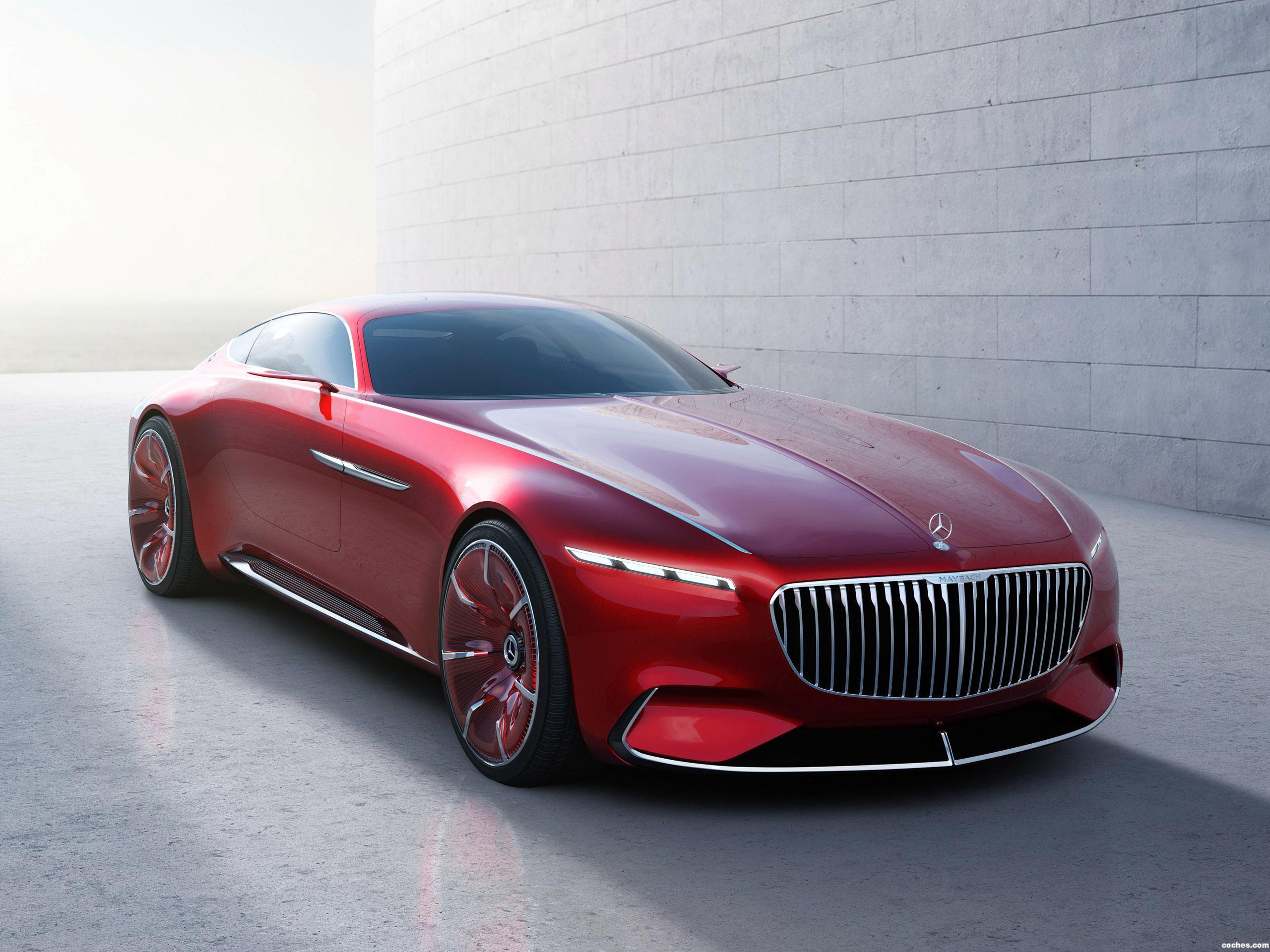 Foto 9 de Mercedes Maybach Vision 6 2016