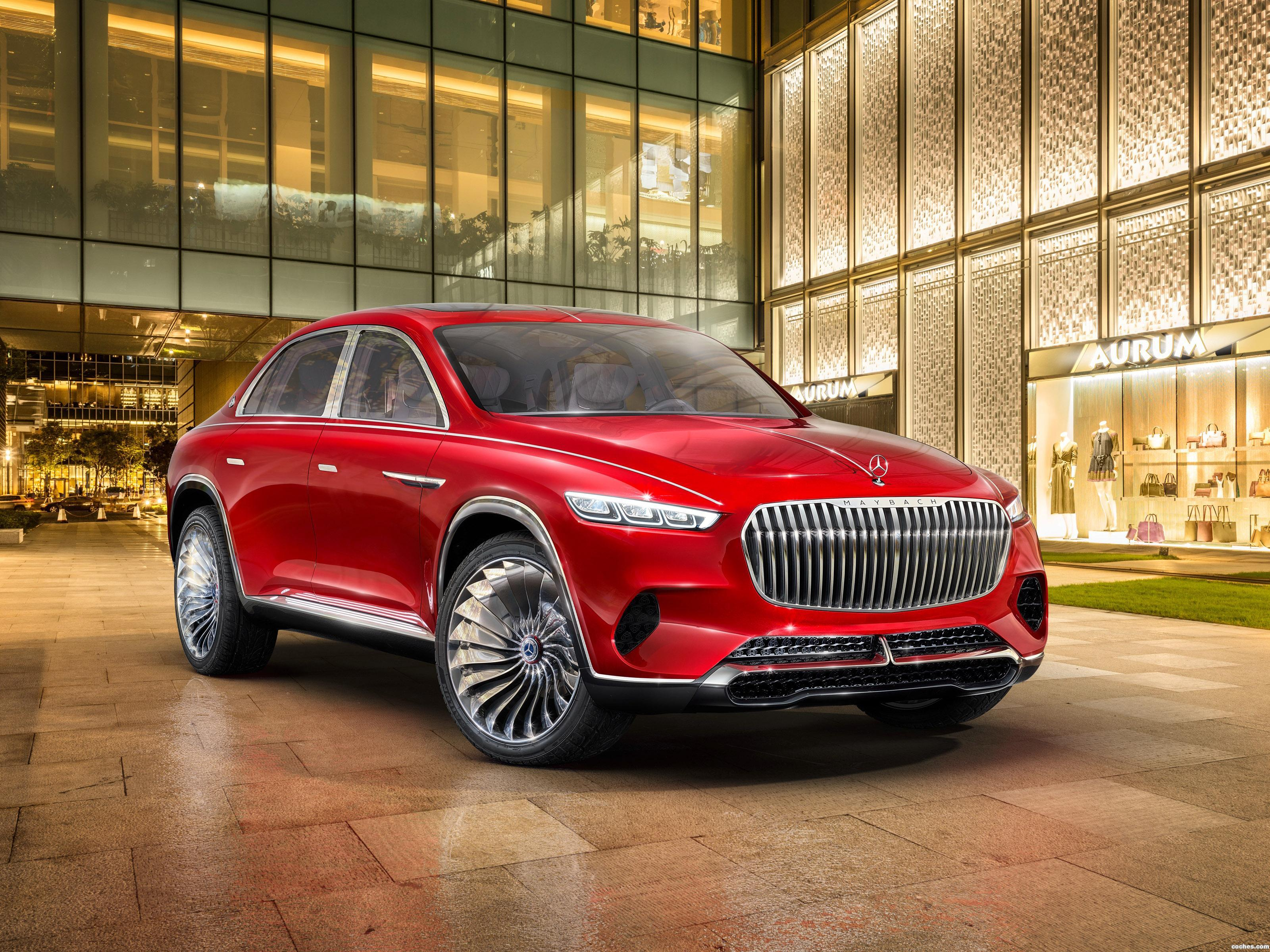 Foto 0 de Mercedes Maybach Vision Ultimate Luxury 2018