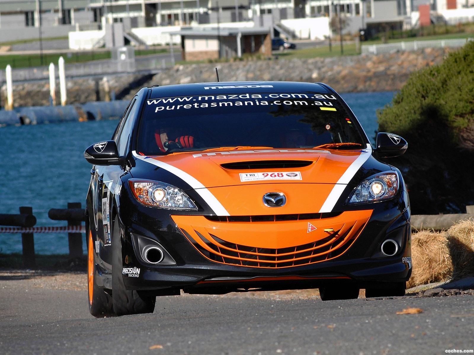 Foto 9 de Mazda 3 MPS Targa Tasmania 2010