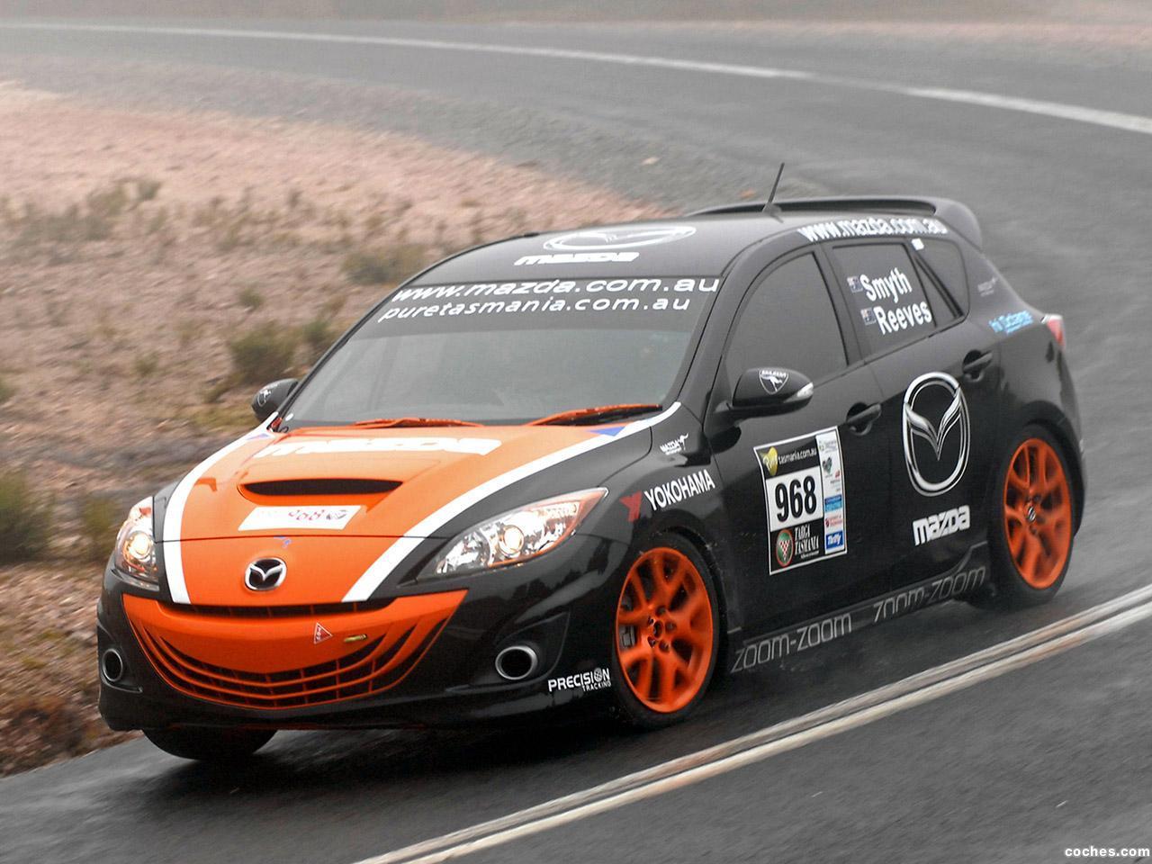 Foto 7 de Mazda 3 MPS Targa Tasmania 2010