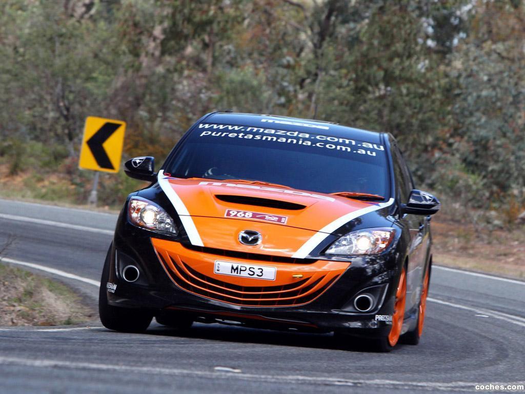 Foto 5 de Mazda 3 MPS Targa Tasmania 2010