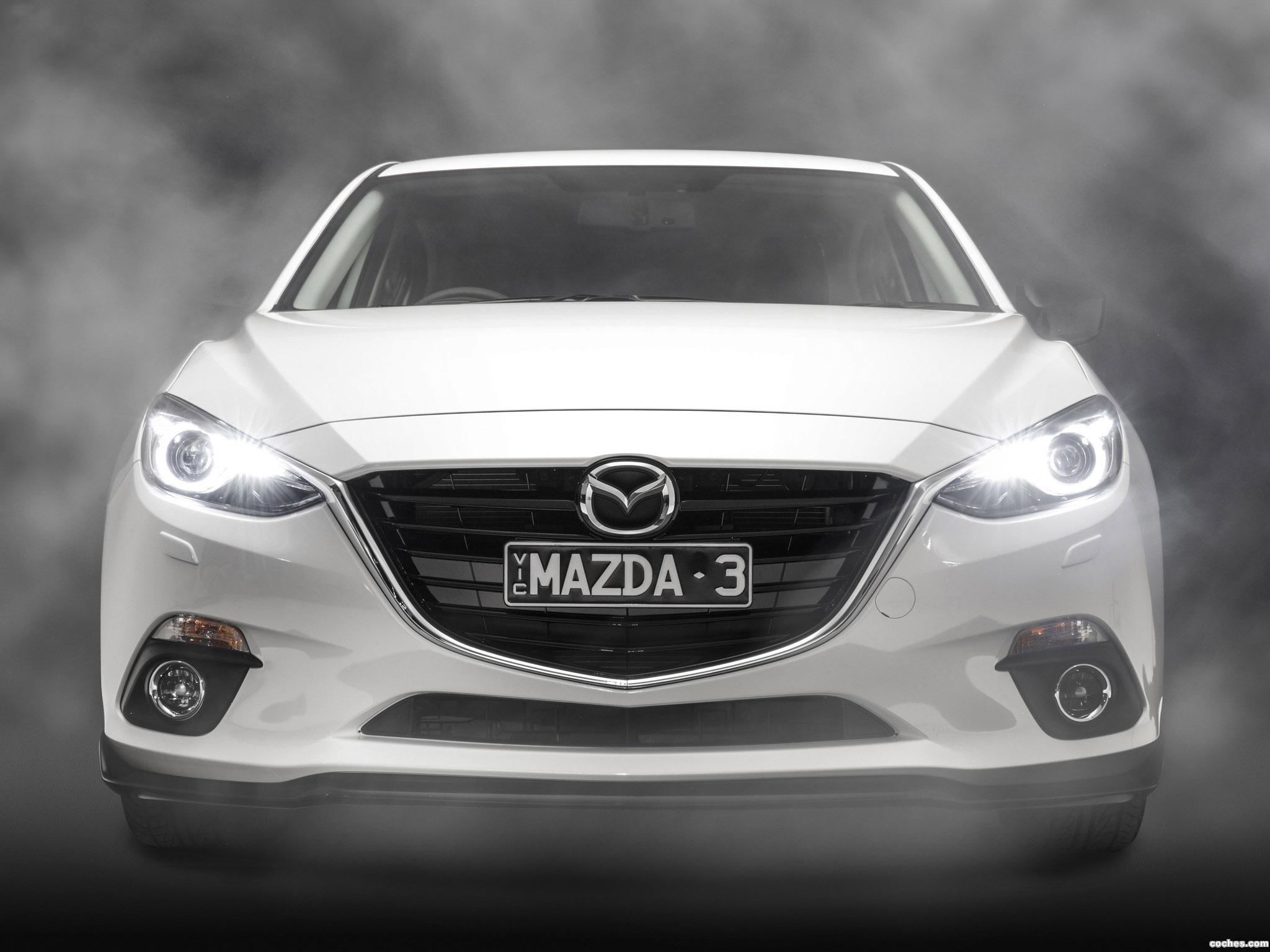 Foto 10 de Mazda 3 Sedan Australia 2014