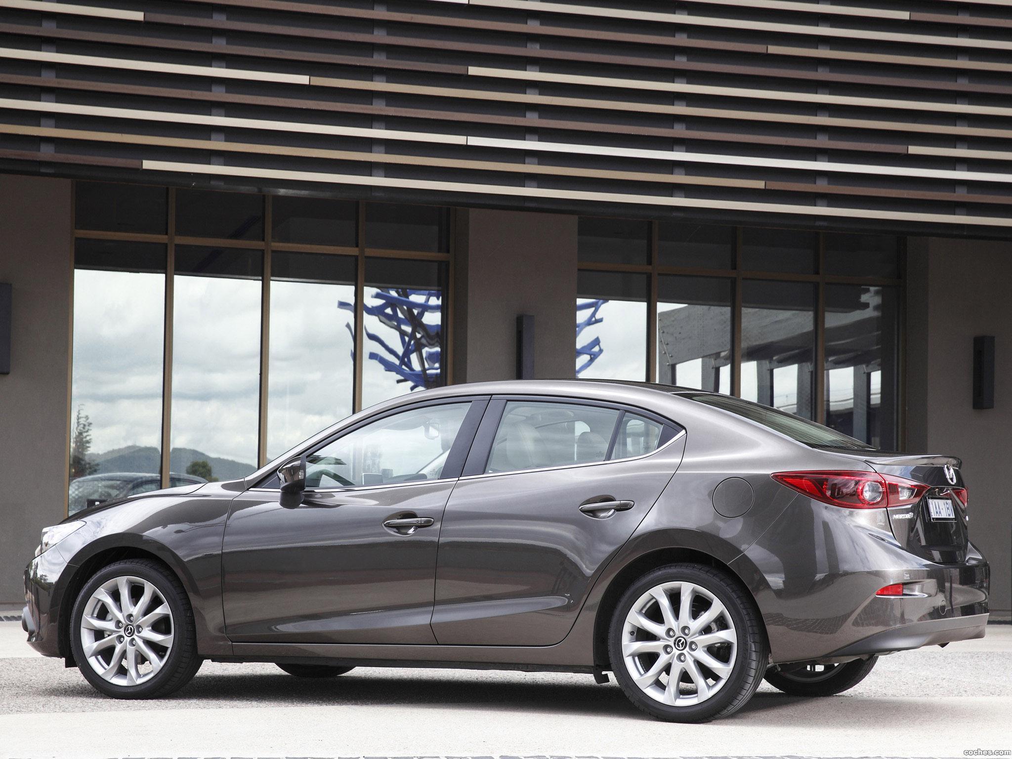 Foto 2 de Mazda 3 Sedan Australia 2014