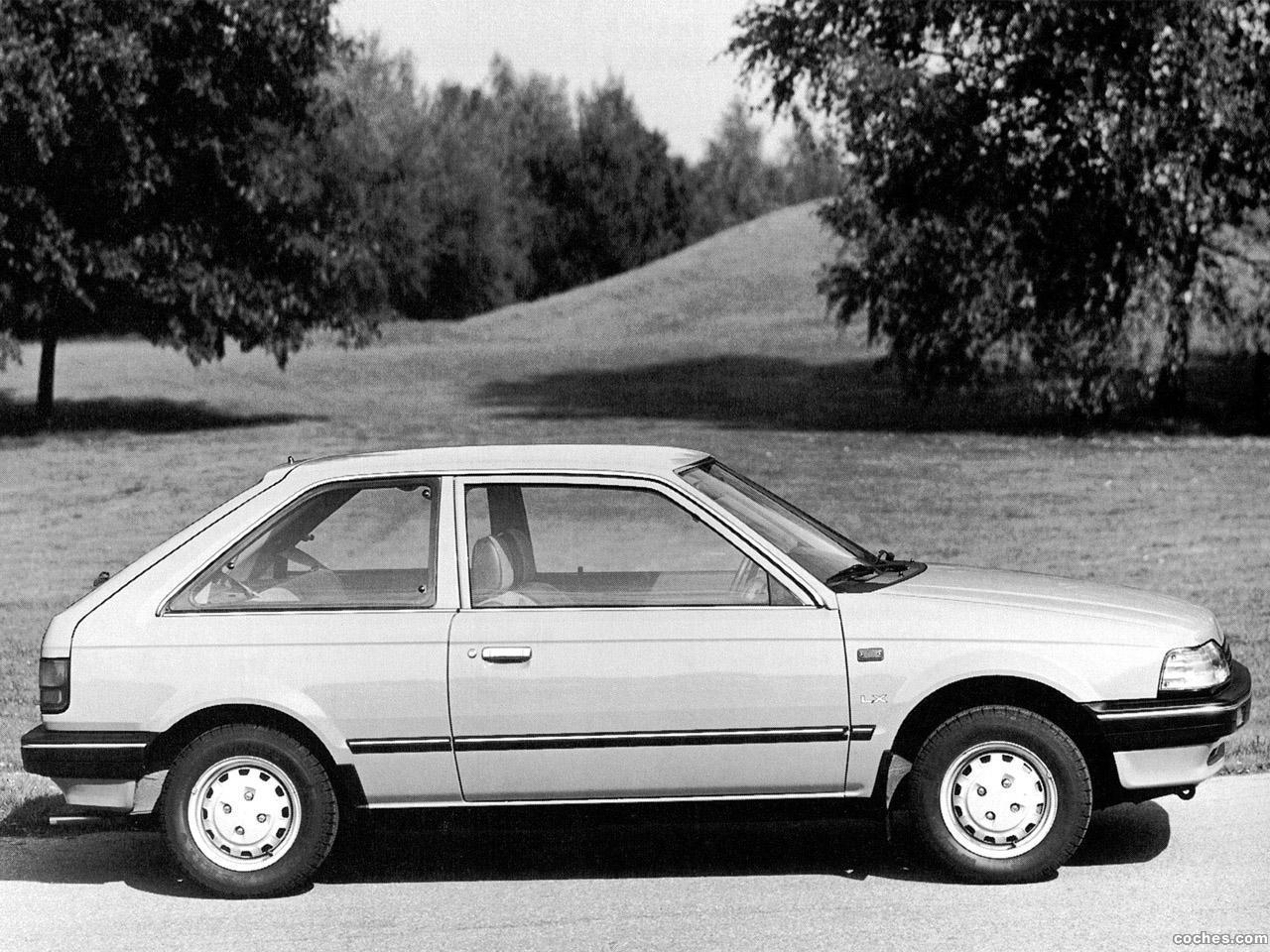 Foto 1 de Mazda 323 3 puertas BF 1985