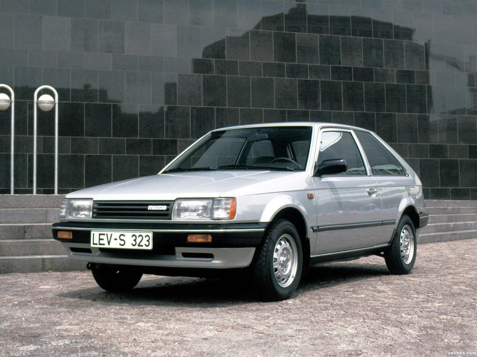 Foto 0 de Mazda 323 3 puertas BF 1985