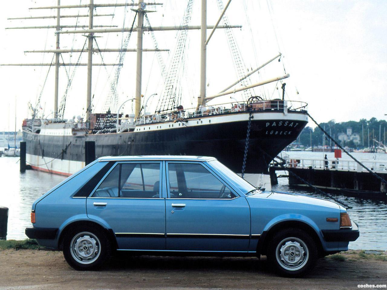 Foto 1 de Mazda 323 5 puertas BD 1980