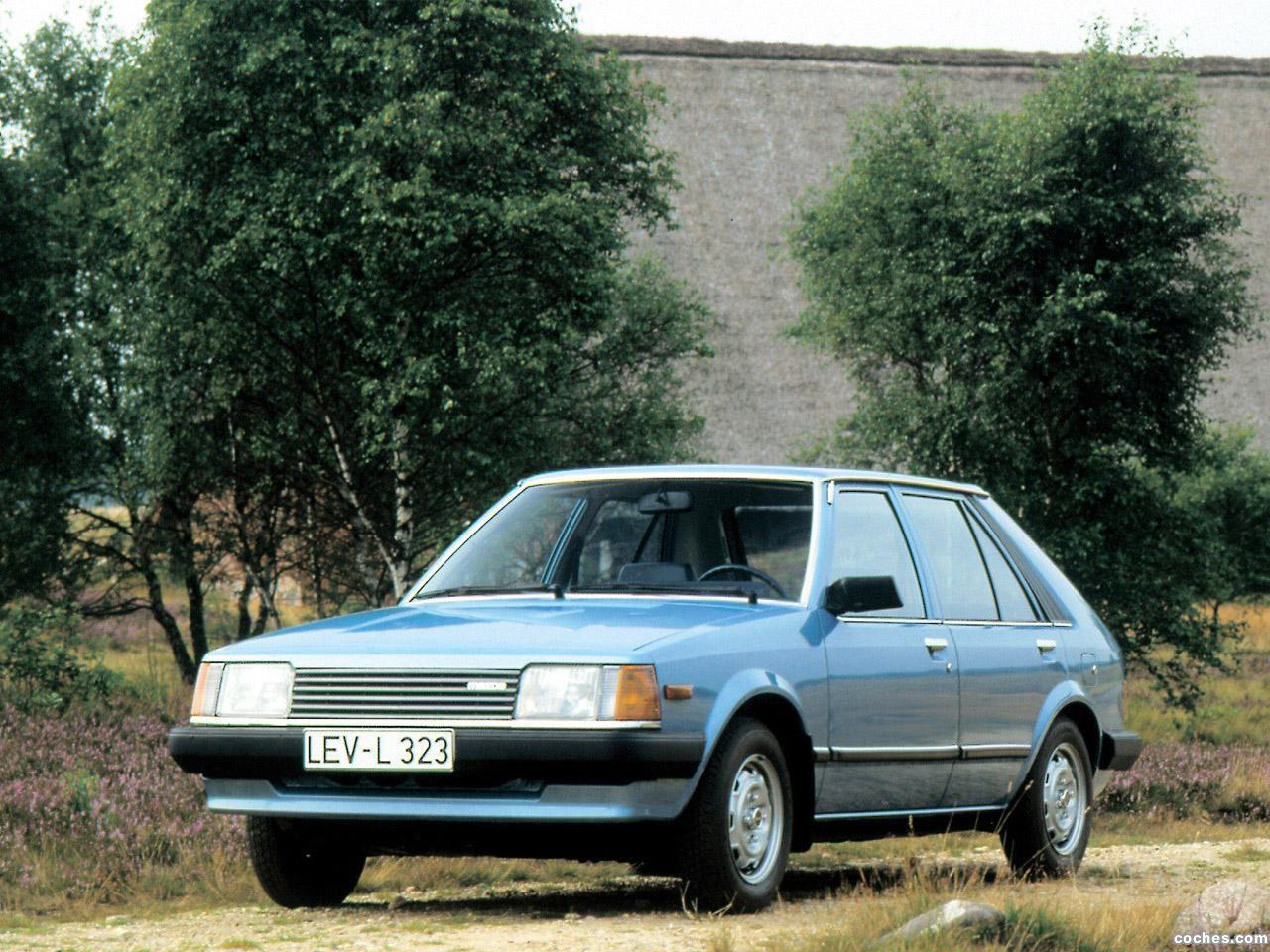 Foto 0 de Mazda 323 5 puertas BD 1980