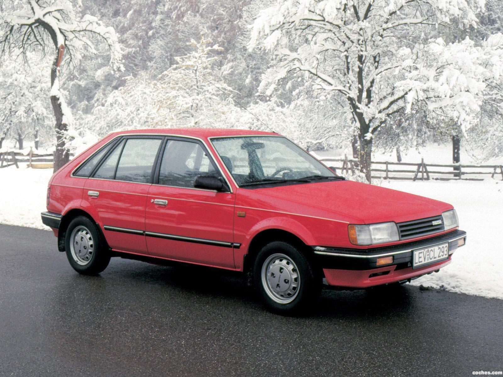 Foto 0 de Mazda 323 5 puertas BF 1985