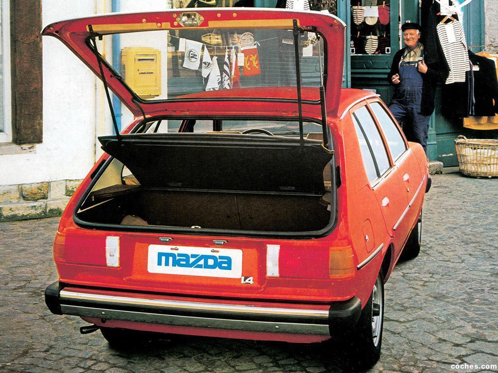 Foto 1 de Mazda 323 5 puertas FA 1977