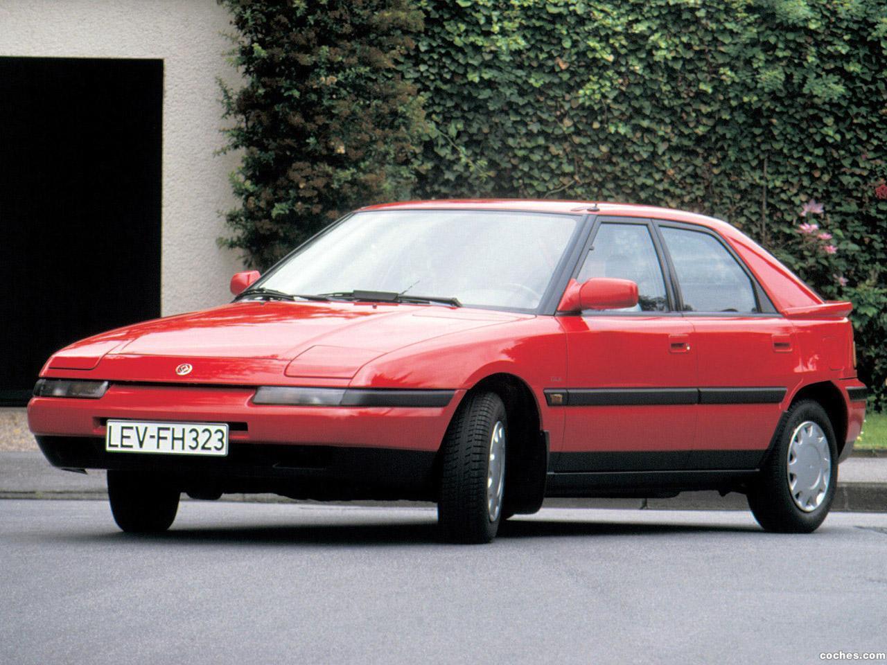 Foto 0 de Mazda mazda 323 F BG 1989