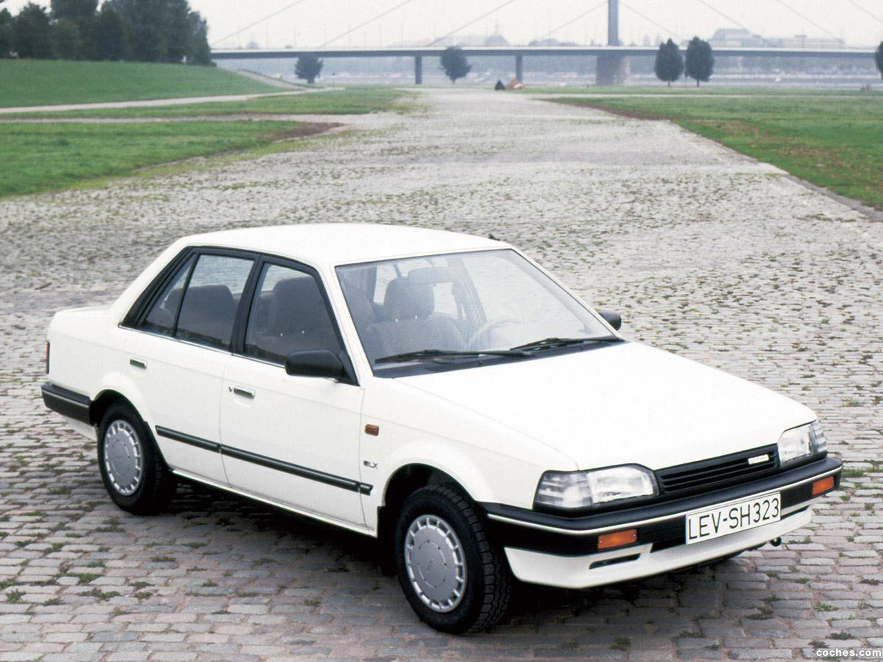Fotos De Mazda 323 Sedan Bf 1986