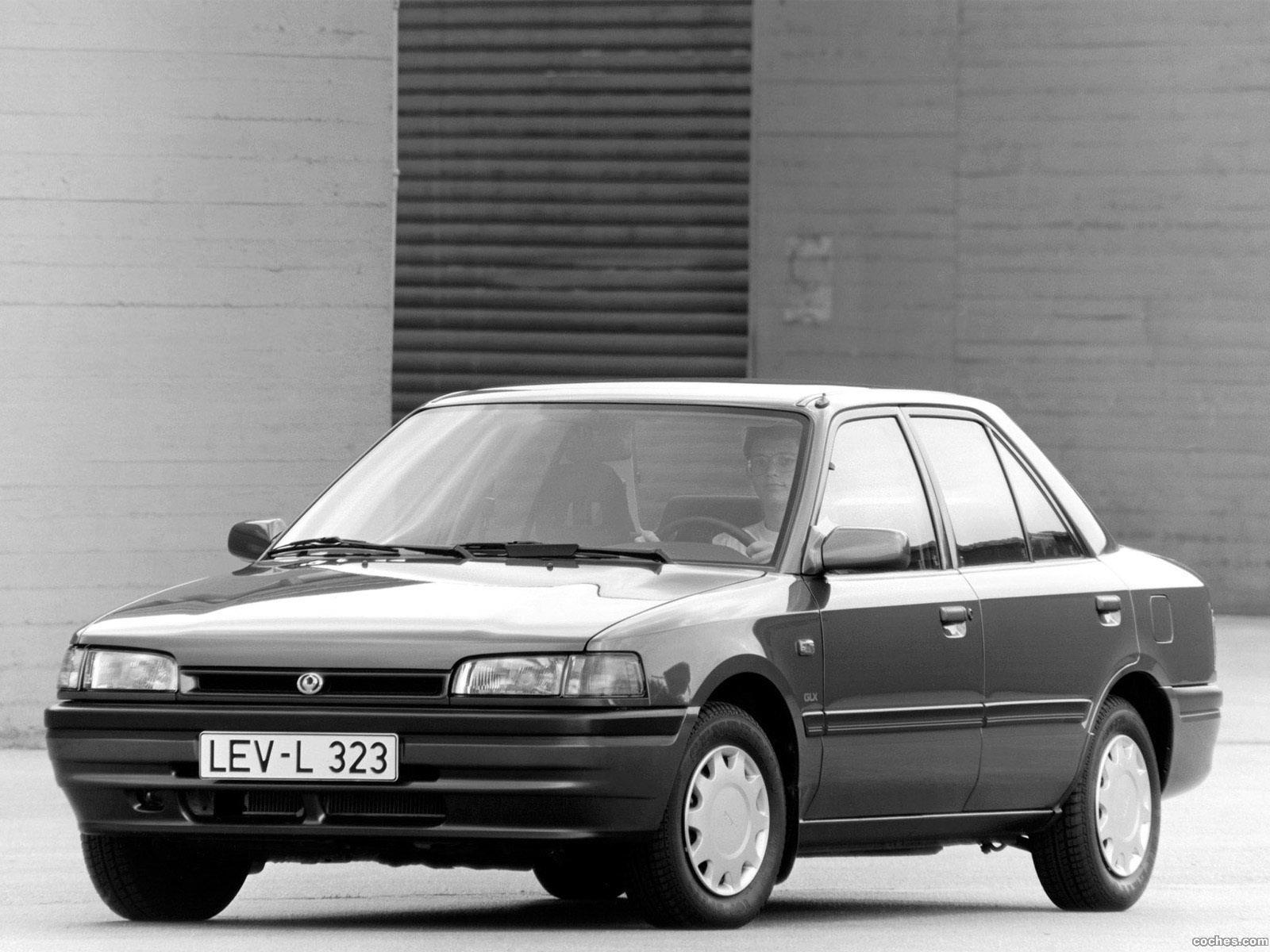 Foto 0 de Mazda 323 Sedan BG 1989