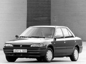 Fotos de Mazda 323 Sedan BG 1989
