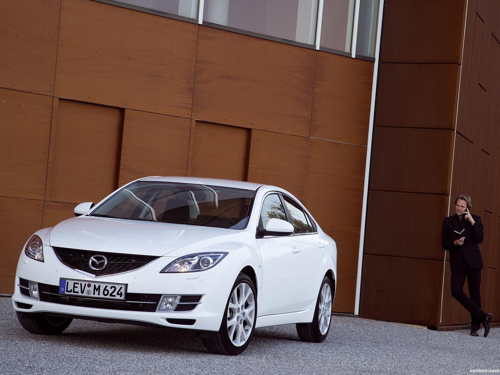 Foto 18 de Mazda 6 Sedan 2008