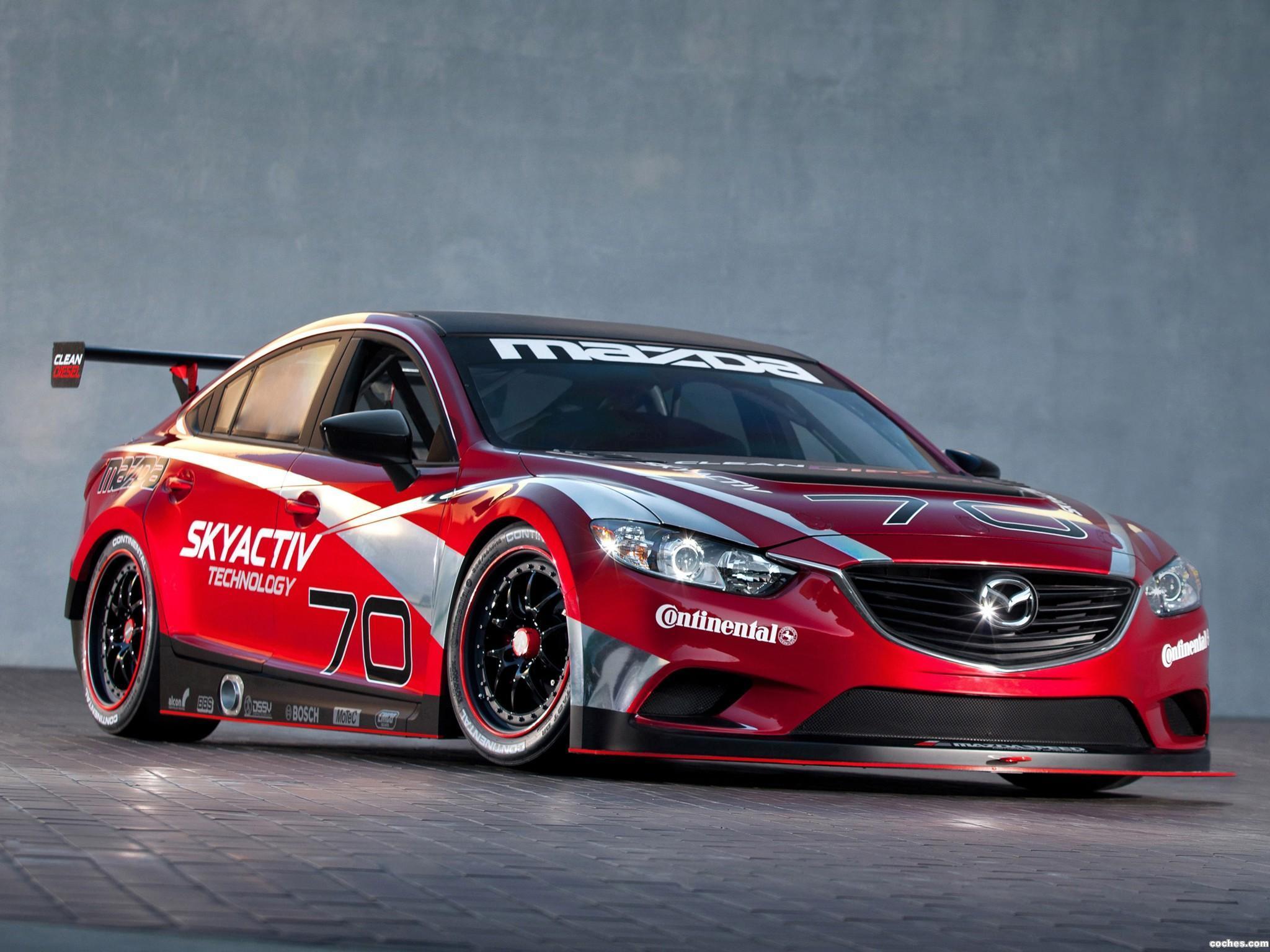 Foto 0 de Mazda 6 Skyactiv-D Race Car 2013