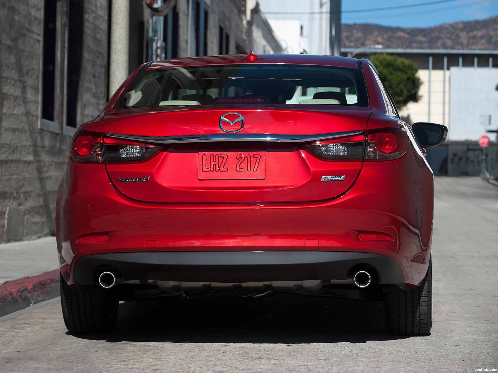 Foto 15 de Mazda 6 USA 2013