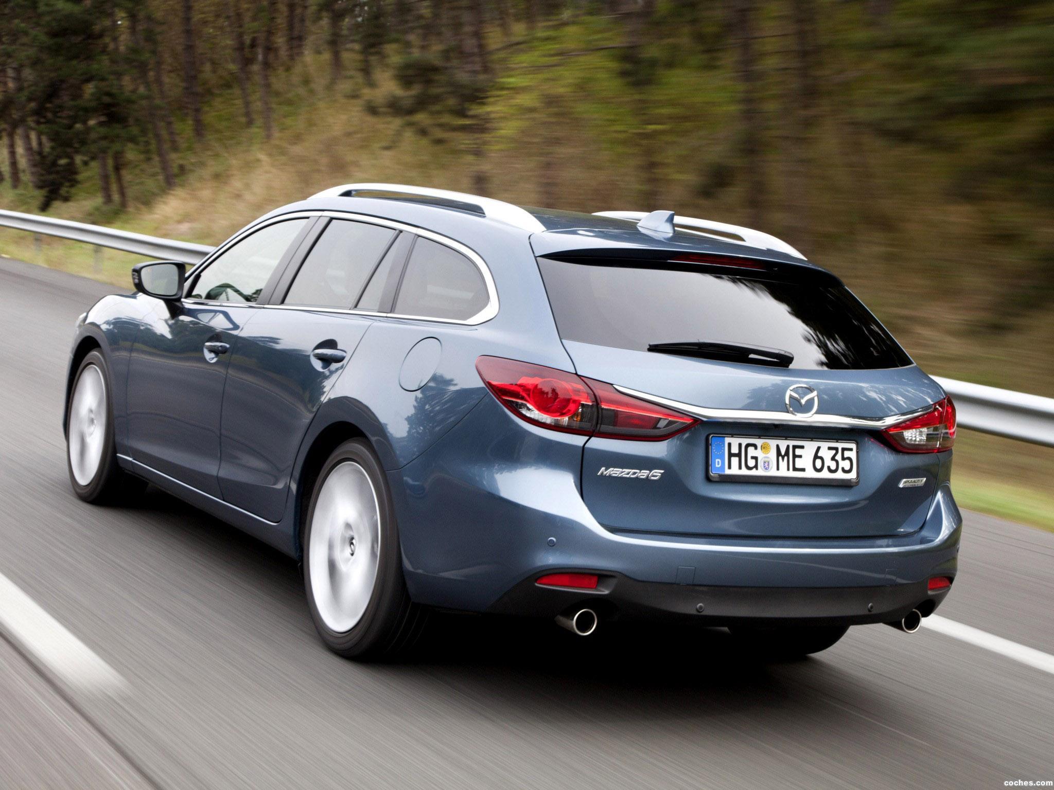 Foto 16 de Mazda 6 Wagon 2013