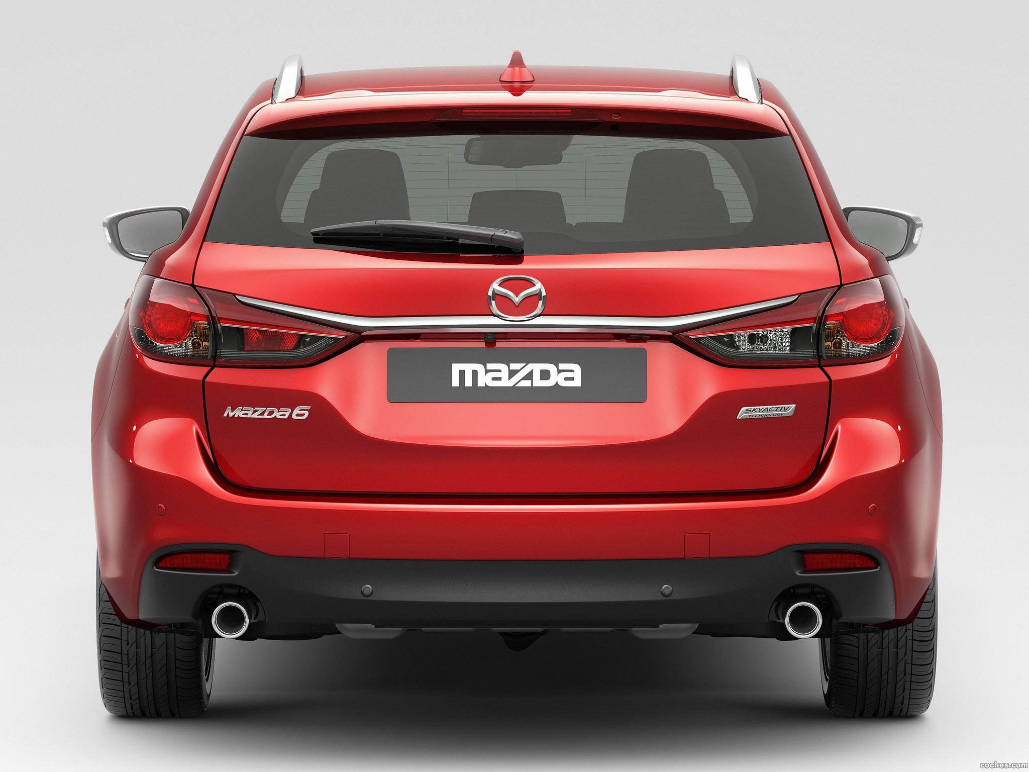 Foto 6 de Mazda 6 Wagon 2013