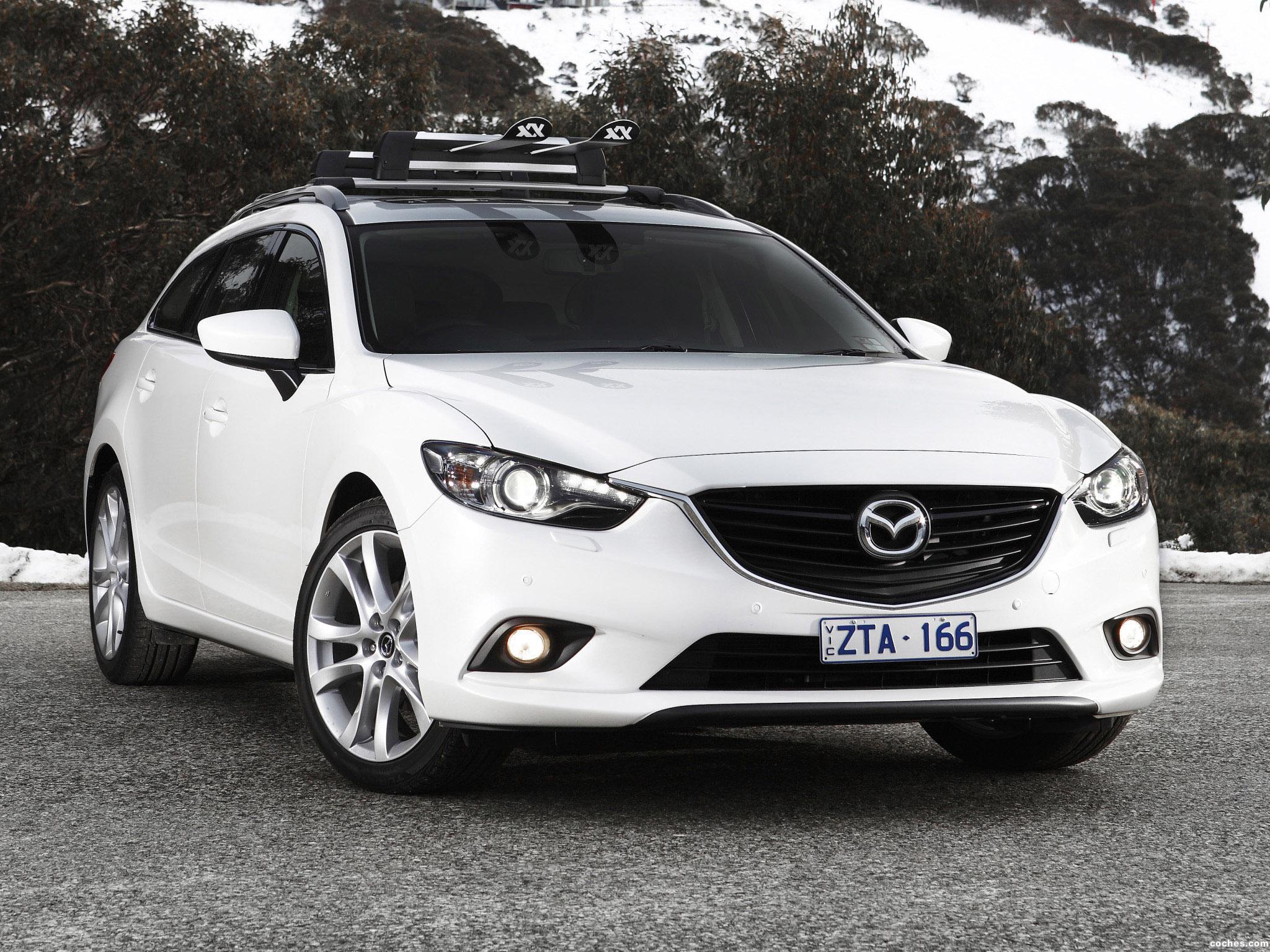 Foto 0 de Mazda 6 Wagon Australia 2013