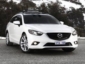 Ver foto 1 de Mazda 6 Wagon Australia 2013