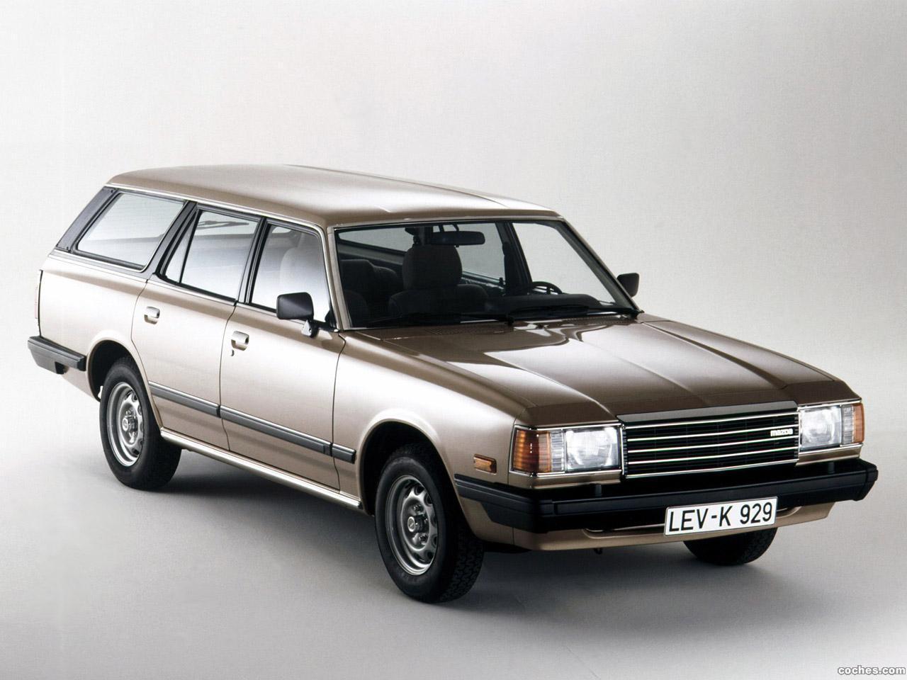 Foto 0 de Mazda 929 Station Wagon 1980