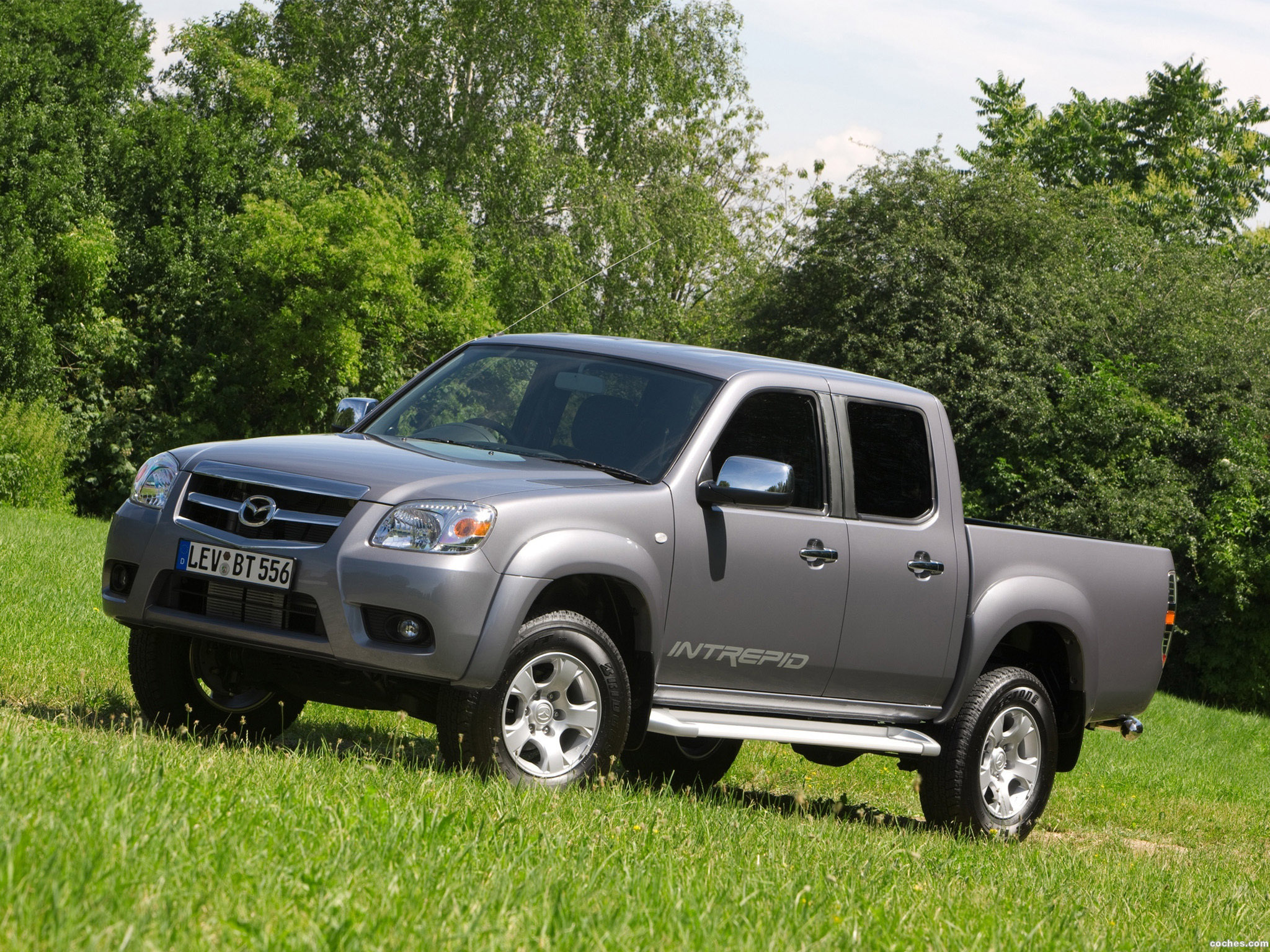 Foto 0 de Mazda BT-50 Double Cab UK 2008