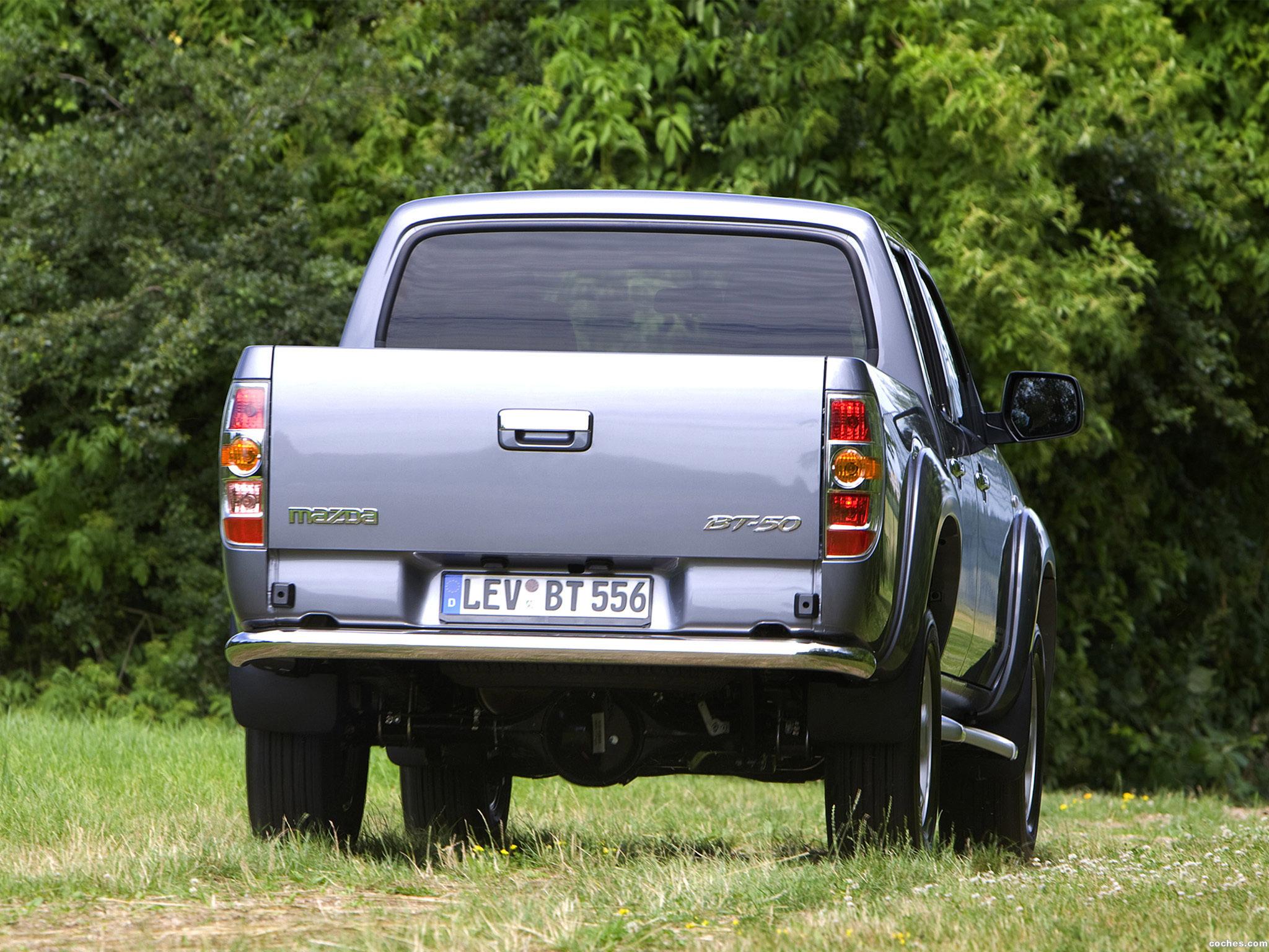 Foto 2 de Mazda BT-50 Double Cab UK 2008