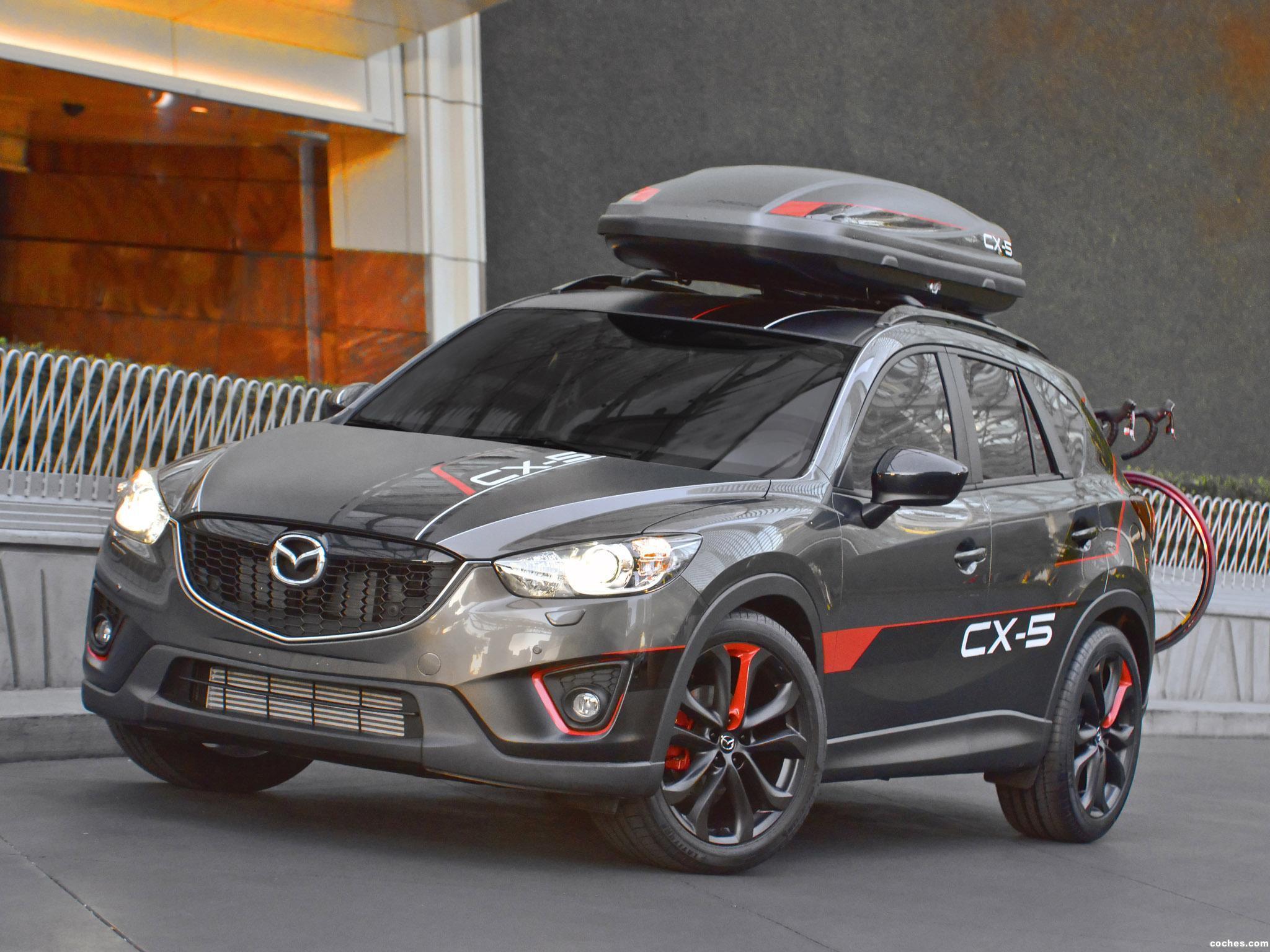 Foto 0 de Mazda CX-5 Dempsey Concept 2012