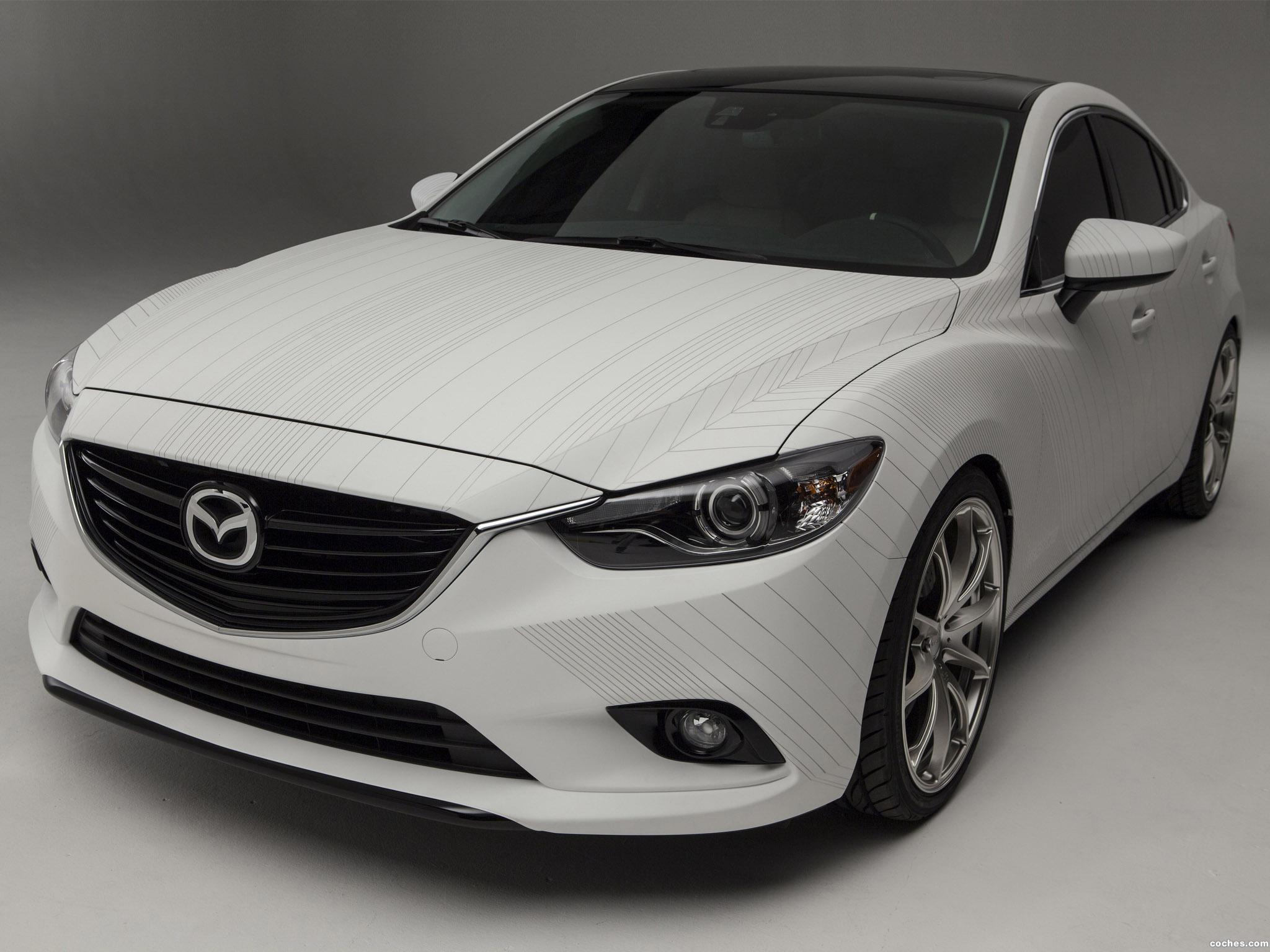 Foto 0 de Mazda Ceramic 6 Concept 2013