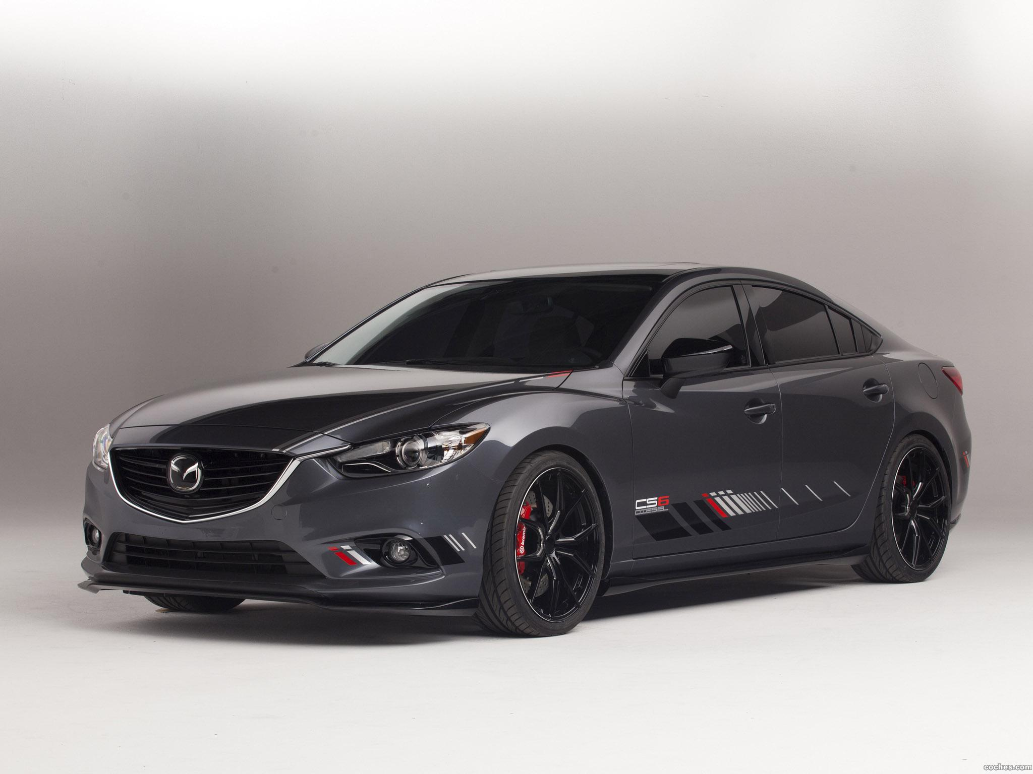 Foto 0 de Mazda Club Sport 6 Concept 2013