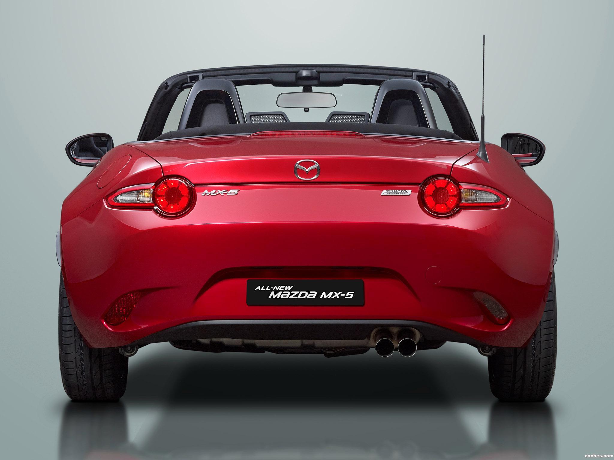 Foto 8 de Mazda MX-5 Roadster 2015
