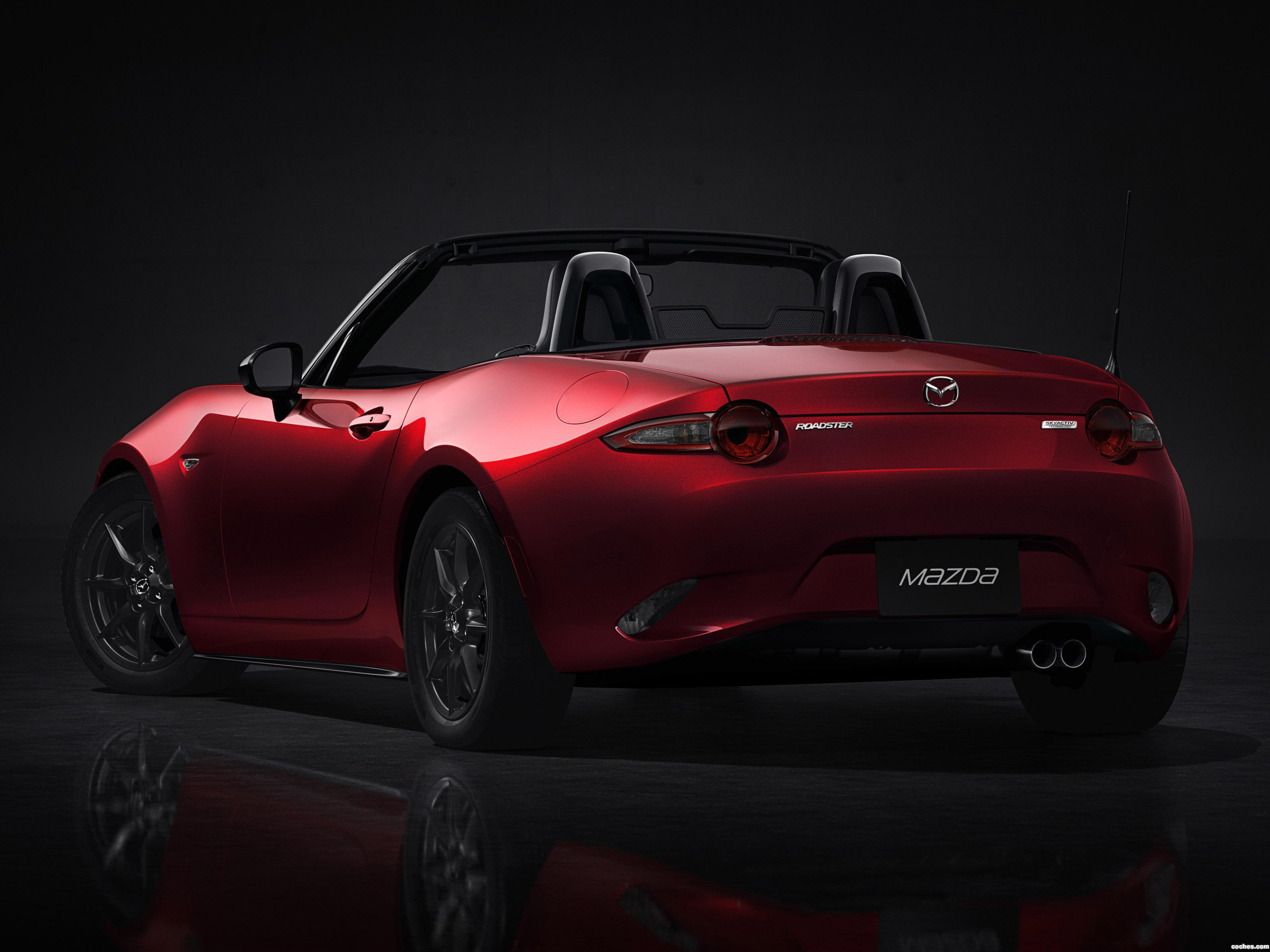 Foto 3 de Mazda MX-5 Roadster 2015