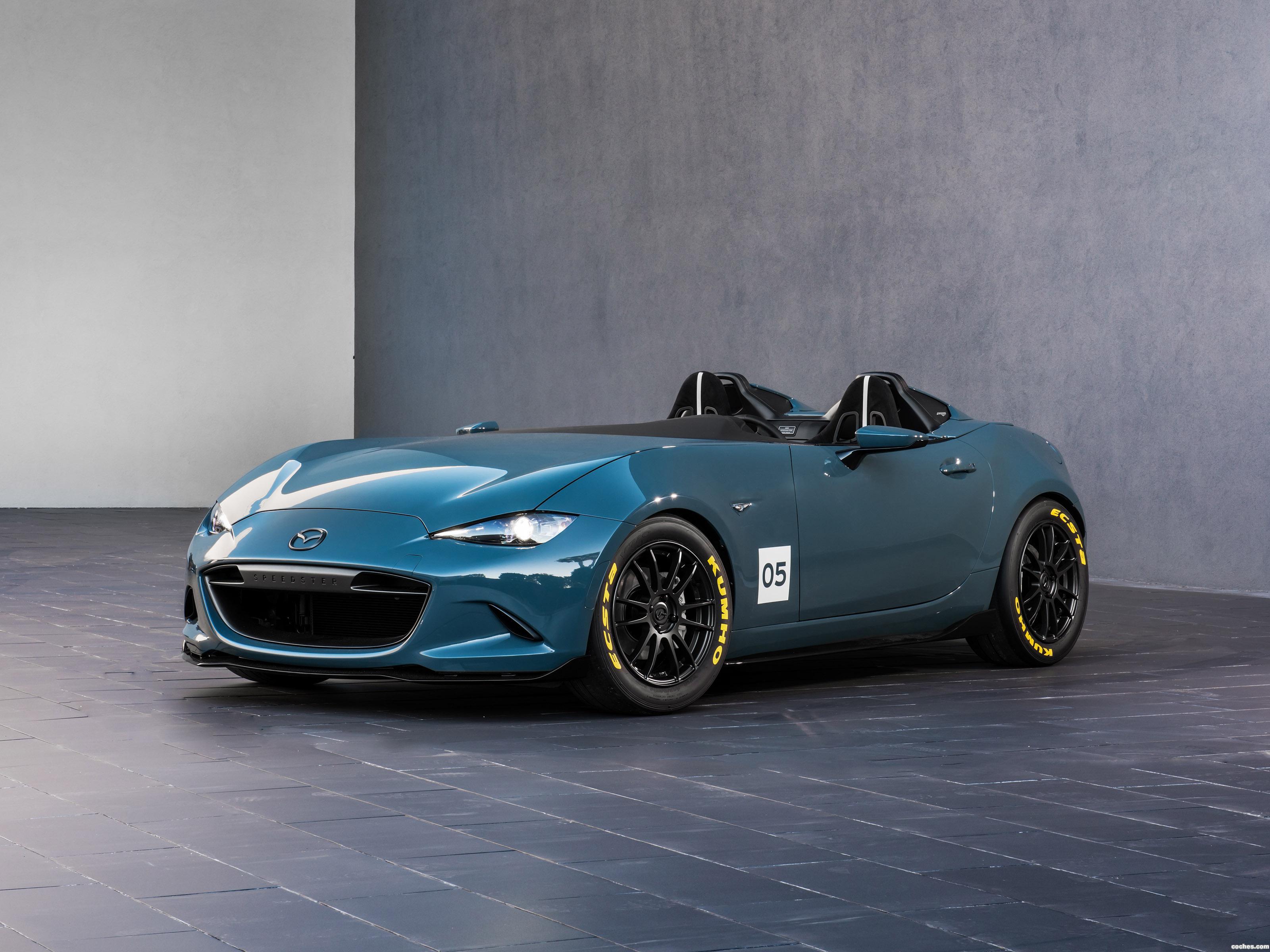 Foto 0 de Mazda MX-5 Speedster Concept 2015
