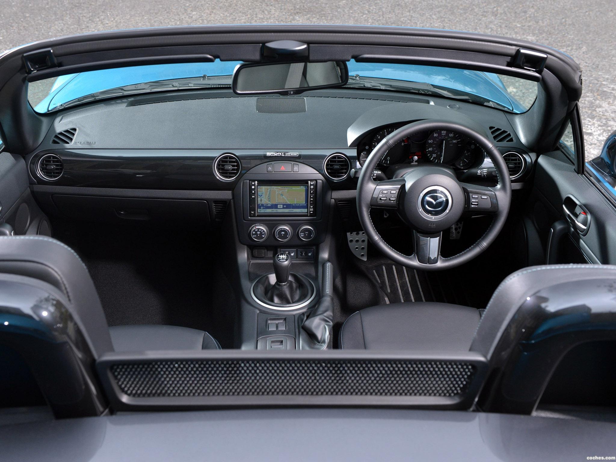 Foto 7 de Mazda MX-5 Sport Graphite Limited Edition UK 2013