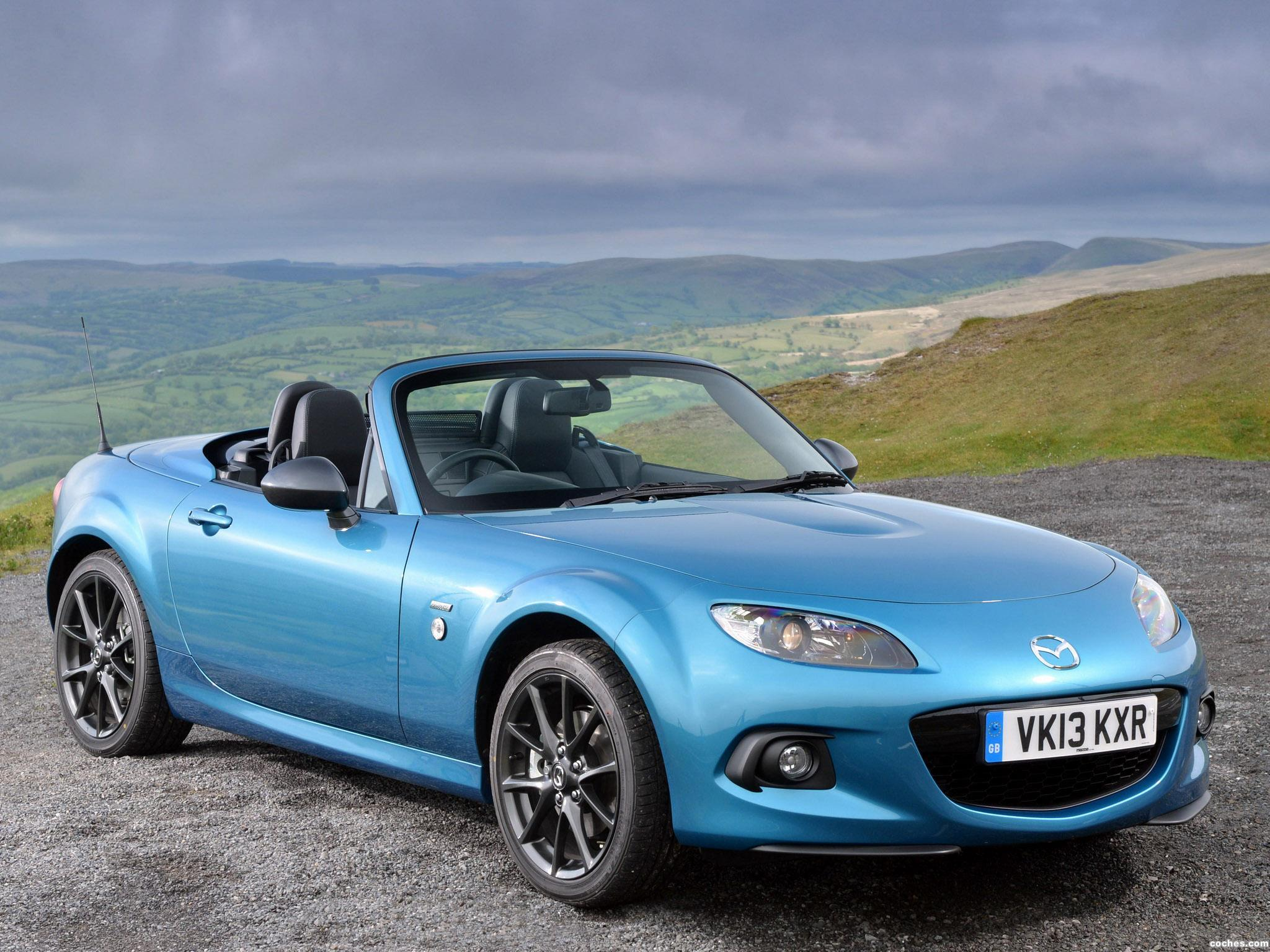 Foto 16 de Mazda MX-5 Sport Graphite Limited Edition UK 2013