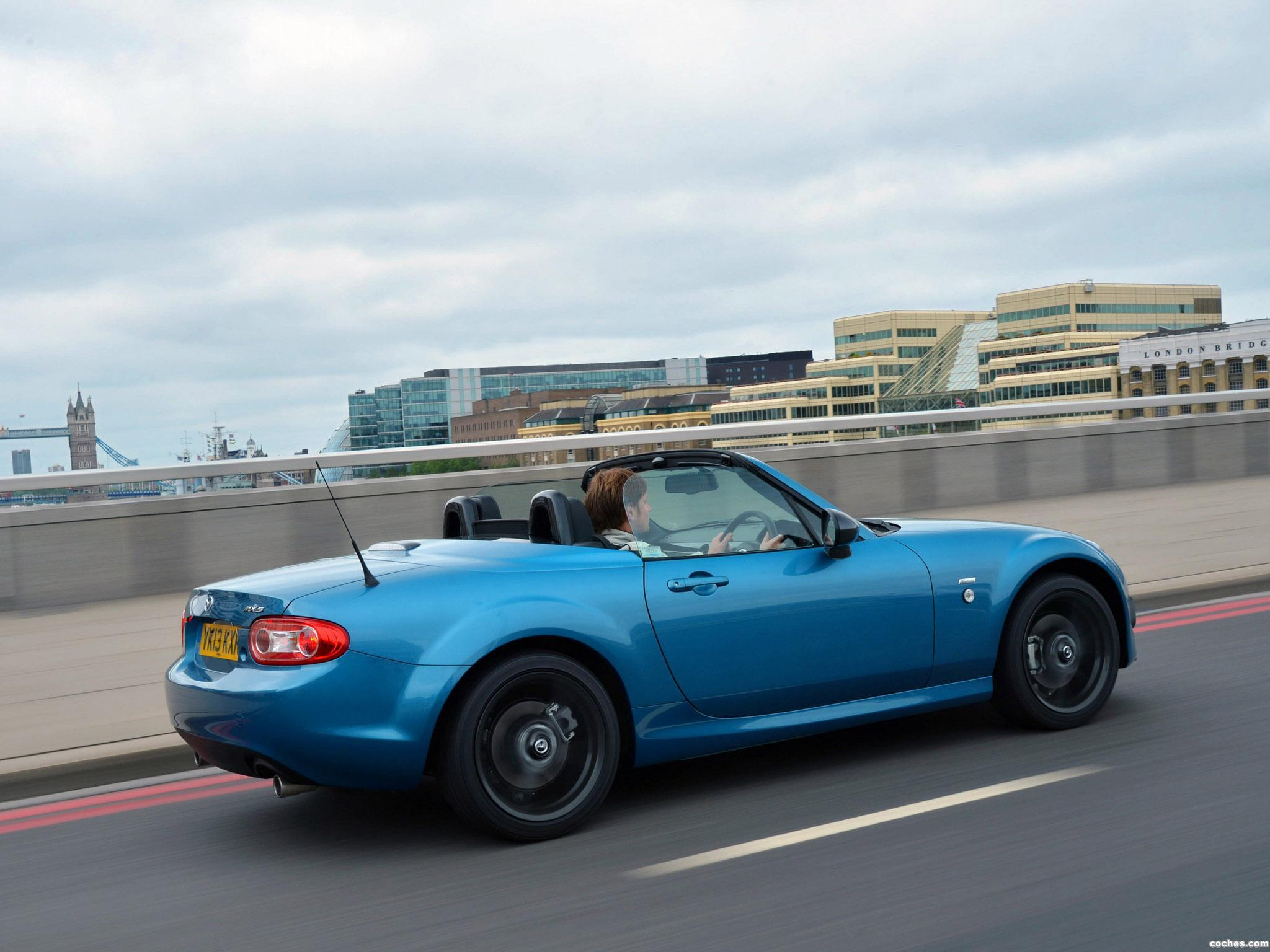 Foto 12 de Mazda MX-5 Sport Graphite Limited Edition UK 2013